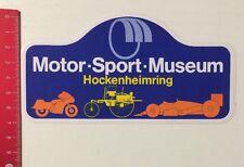 Aufkleber/Sticker: Motor-Sport-Museum Hockenheimring (26041695)