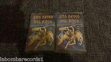 ZZ- CASSETTE LOTE 2 - LOS REYES DEL ROCK - VOLUMEN 1 Y 2 - RARE
