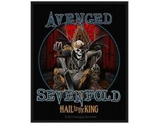 AVENGED SEVENFOLD hail to the king - 2014 - WOVEN SEW ON PATCH official A7X
