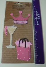 Embellish Your Story Magnets BACHELORETTE PARTY SET 3 Assorted Crown Drink NEW