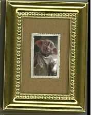 DOBBY HOUSE ELF OF HARRY POTTER  A U.S. GLASS FRAMED POSTAGE STAMP MASTERPIECE!