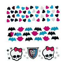 Assortiment de 3 packs monster high fête d'anniversaire table confetti sprinkle décoration