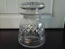 Unusual shape Antique Victorian 19th Century Cut Glass Pickle Jar