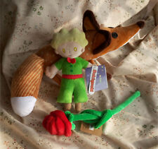 The Little Prince Le Petit and Fox Plush Doll Toy Gift 2PCS