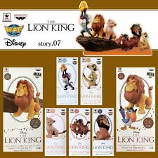 Disney WCF World Collectable Figure story.07 THE LION KING Complete set