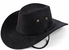 black  Western USA COWBOY HAT Both men and women big hat The beach sun hat