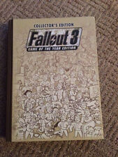 FALLOUT 3 GAME OF THE YEAR COLLECTOR'S ED: PRIMA HARD COVER W/ POSTER