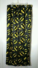 BATMAN LOUNGE PANTS 2XL FLEECE NEW WITH OUT TAGS