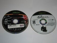 Xbox - Lot Of 2 Hitman Games - Contracts, Blood Money Disc Only - 1a