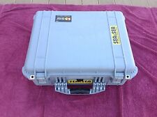 PELICAN 1550  CASE GRAY  WITH FOAM   EXCELLENT!
