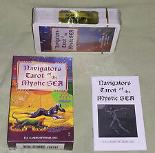 OOP 1997 -NEW & SEALED! Navigators Tarot Of The Mystic Sea Card Deck Switzerland