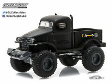 Greenlight Black Bandit Series 14 1941 Military 1/2 Ton 4x4 Ready to Ship