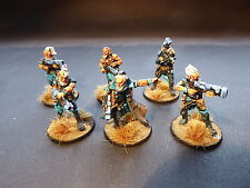 28mm Sci-Fi Gates of Antares Freeborn Mhagris feral squad - painted