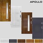 Tür Haustür Eingangstür Stahltür 80/90/100 Prime55 APOLLO 4 farbe auch weiß