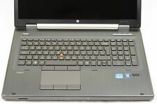 "HP EliteBook 8760w 17.3"" IPS DreamColor i7 2.7GHz 16 256GB Nvidia Quadro Laptop"