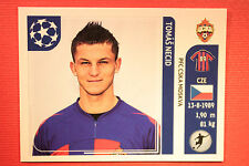 PANINI CHAMPIONS LEAGUE 2011/12 N 106 NECID CSKA WITH BLACK BACK MINT!!