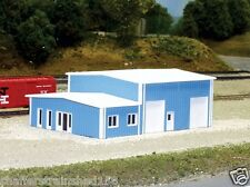 Pikestuff # 8006 Contractor's Building  Scale 40 x 60' 12.2 x 18.3m  N Scale MIB