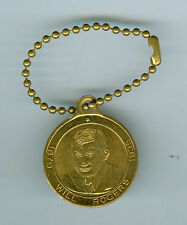 1938 Death of Will Rogers Memorial, Claremore, Oklahoma Medal w/Chain