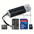 USB2.0 All in 1 Multi Memory Card Reader for Micro SD SDHC MS TF SD M2 MMC 662B