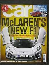Car February 2012 new McLaren F1 MP4-12C Spyder Audi Q3 Evoque BMW 328i Audi A5
