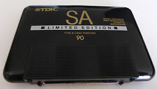 TDK SA limited edition type II high position 90 mns blank cassette tape used