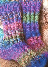 Bed Socks / Walking Socks / Work Socks Knitting Pattern