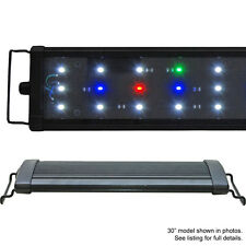 "USED 48"" EA 120 Timer FSpec 0.50W LED Aquarium Light Freshwater Beamswork #64"