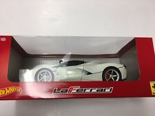 LaFerrari Hot Wheels 1/18th scale die-cat model-collectable