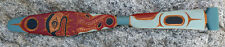 Northwest Coast First Nations Canada Indigenous Art Cedar Octopus Paddle Carving