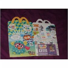 U.K McDonalds happy meal empty box Furby (used)