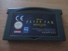 jeu game boy advance disney's peter pan return to never land