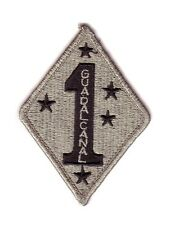 "1st MARINE DIVISION ""ACU Patch"" (Fabrication Actuelle)"