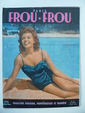 Magazine PARIS FROU*FROU 1952 - Cv.  Rita HAYWORTH - Dany CARREL en 4ème Cv.
