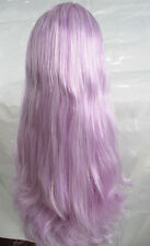 Blythe Doll RBL Scalp & Dome Mix Light Purple&White Hair Without Bangs JSH021