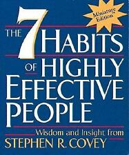 The 7 Habits of Highly Effective People by Stephen R. Covey (2000, Mini Edition)
