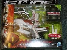 GI JOE MOVIE THE RISE OF COBRA TARGET EXCLUSIVE STORM SHADOW W/ ARASHIKAGE CYCLE