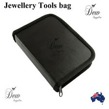 Jewellery tool bag container for pliers  faux leather
