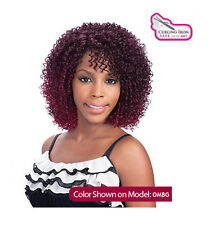 Equal Synthetic Invisible Lace Front L Part Wig Mimi
