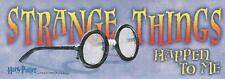 STRANGE THINGS HAPPEN TO ME ~ Harry Potter Full Color 3x9 Decal Sticker