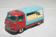 CORGI TOYS COMMER VAN MILK LORRY TRUCK RED BLUE EXCELLENT CONDITION