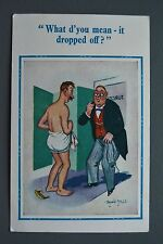 R&L Postcard: Comic, D Constance Donald McGill, Unposted, Doctors Surgery