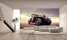 Vintage Car Wall Mural Photo Wallpaper GIANT DECOR Paper Poster Free Paste