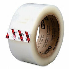 "3M 371 Scotch 2"" x 110 yards Clear Packaging Carton Sealing Tape 1-Roll"