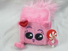 FUNNY SQUARE DICE PINK KITTY CAT PEPPERMINT GUND SQUAREDY CATS CANDIE PLUSH CUBE