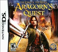 Lord of the Rings: Aragorn's Quest (Nintendo DS, 2010) NEW