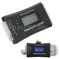12V Tester Medidor Tester Comprobador Fuente de Alimentación Power PC Ordenador