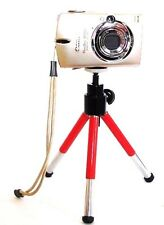 """8"""" Table Top Mini Tripod for Canon PowerShot ELPH 130 115 IS"""