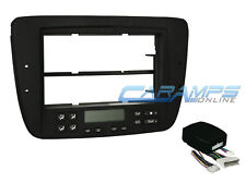 CAR STEREO RADIO DASH KIT W/ WIRING HARNESS FOR DIGITAL AIR CLIMATE CONTROLS