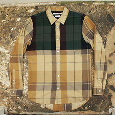 NEW Marc Jacobs Beige Contrast Check Shirt GENUINE RRP: £315 BNWT
