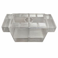 Aquarium Fish Breeding Box Tank Fry Trap Hatchery Floating Breeder Isolation